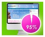 95% der Interessenten gehen zuerst auf Ihre Homepage!