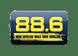 88,6 der Musiksender