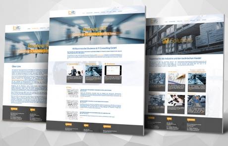 Webdesign für B&IT