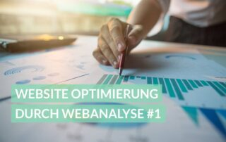 Website Optimierung durch Webanalyse