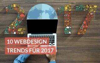 10 Webdesign Trends für 2017