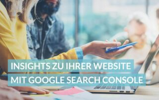 Insights ui Ihrer Website mit Google Search Console