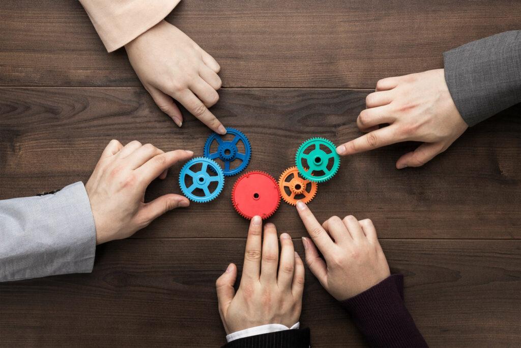 Verknüpfungen Teamwork