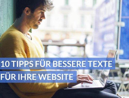 10 Tipps für ansprechende und übersichtliche Texte für Ihre Website