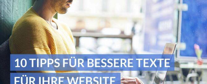10 Tipps für bessere Texte für Ihre Website