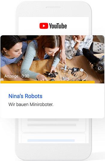 Youtube Suche Nina's Robots