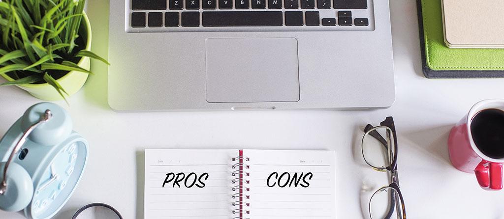 Vorteile und Nachteile - CMS Vergleich - WordPress