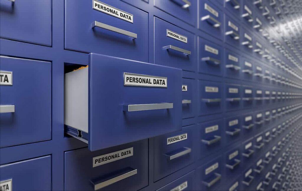 Persönliche Daten nur im notwendigen Maß