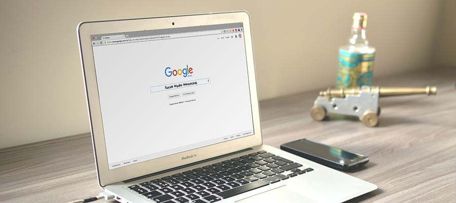 "Google Suche ""Social Media Marketing"""